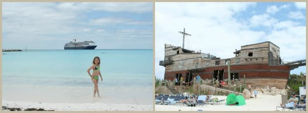Photos at Half Moon Cay by Carlette Sandridge.
