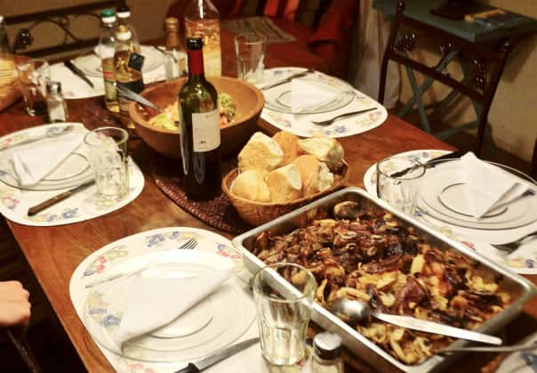 The Porteno Home Hosted Dinner is a great introduction to the culture of South America.