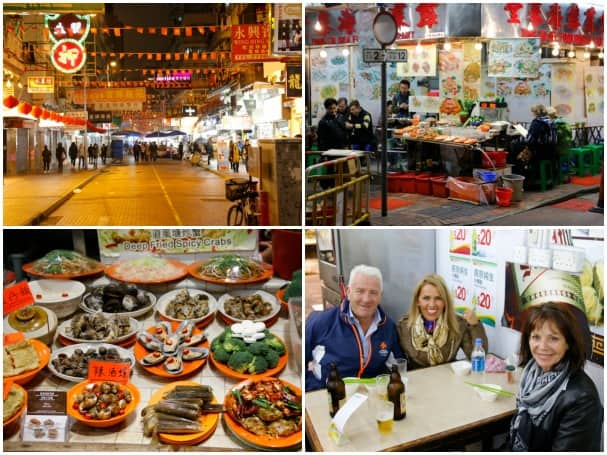 Photos of the Night Market from Captain Mercer.