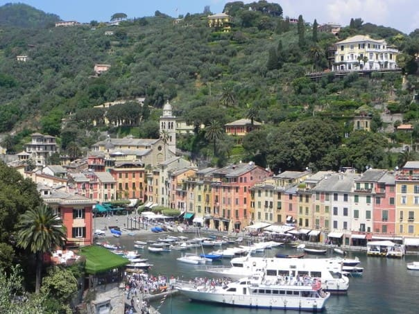 Postcard of Portofino, Italy. Photo courtesy of guest Mandy S.