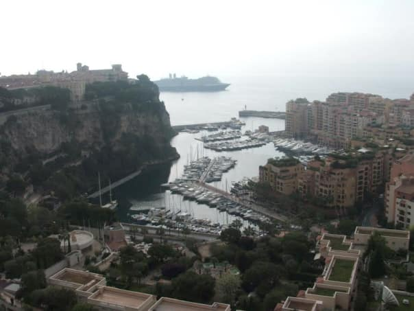 Monte Carlo on the French Riviera.