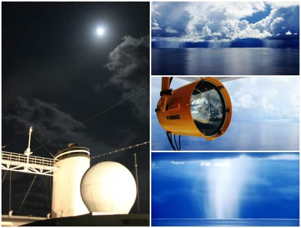 Photos taken on a repositioning cruise by Jonathan Bailey.