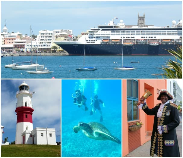 Photos, except diving, are by Brian McDowell, Holland America Line's director of decision support.