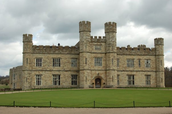 Leeds Castle in Kent, England, is one of the most attractive medieval castles in the region.
