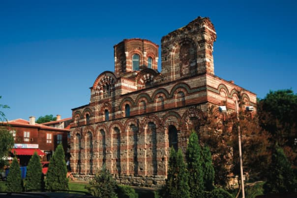 The Church of Christ Pantocrator, found in Nessebar's old quarter, is one of Bulgaria's best preserved churches and functions today as an art gallery.