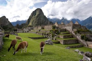 Machu Picchu is one of South America's most visited sites.