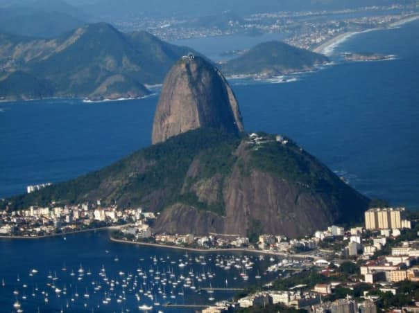 Rio de Janeiro has plenty to see, including the famous Sugarloaf Mountain.