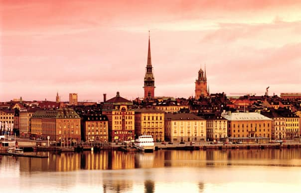 Stockholm, Sweden, is a popular port on several Collectors' Voyages, giving guests extra time with an overnight call.