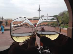 Guest Sheri King always toasts to the perfect day before her vacation.