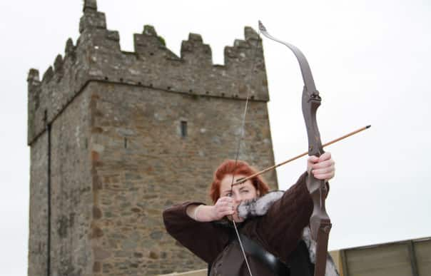 On the Game of Thrones shore excursion, guests get to test their archery skills.