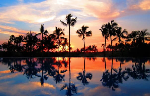Stunning sunsets await at Puerto Vallarta, Mexico.