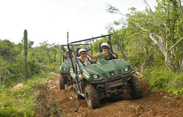 Off-roading in a 4x4 is an exciting way to see unspoiled parts of Mexico.