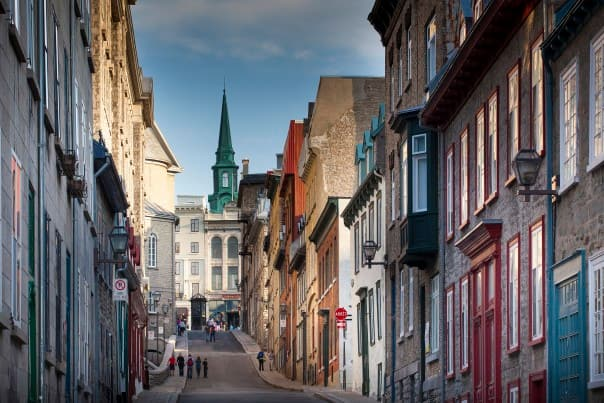 Quebec City is one of Holland America Line highest rated ports of call.