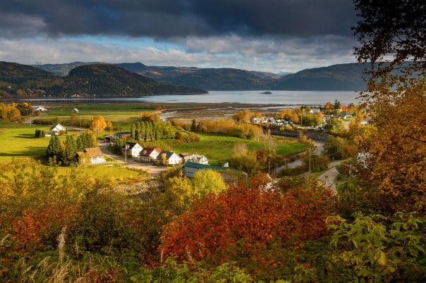 Cruising along the Gulf of St. Lawrence and Saguenay Fjord bring the fall colors to life.