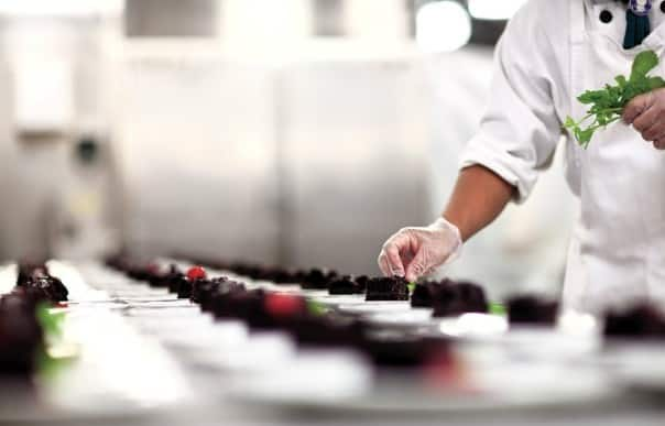 Take a peek behind the scenes of a Holland America Line kitchen.