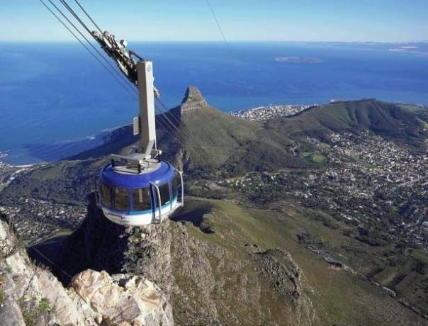 Table Mountain is Cape Town, South Africa's most celebrated landmark.