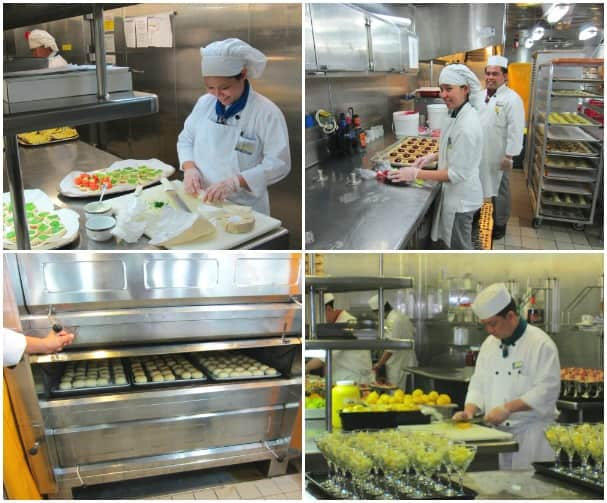 By The Numbers Behind The Scenes In A Cruise Ship Kitchen - Cruise ship kitchen