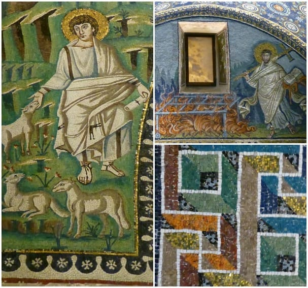 Ravenna's Byzantine mosaics -- just breath taking and humbling as well to experience such devotion made tangible. This is just incomprehensible to ponder the years of effort to produce such art. Truly there was divine inspiration.