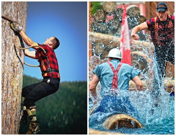 """The """"Great Alaskan Lumberjack Show at Ketchikan"""" features the best of the best."""