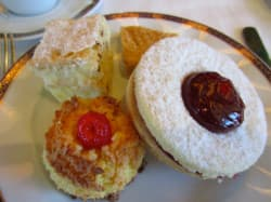 Delicious tea time treat. Photo by guest Elise.