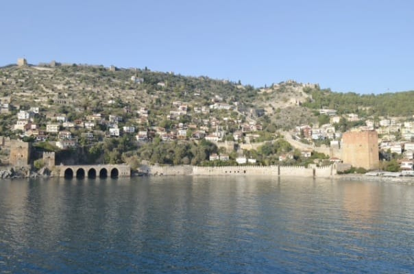 The harbour at Alanya, Turkey.