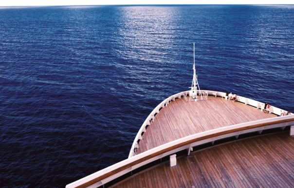 Repositioning cruises allow for plenty of time to relax and enjoy the view.