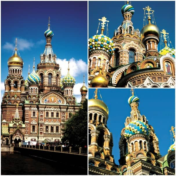 The Church on the Spilled Blood is a recognizable icon of St. Petersburg.