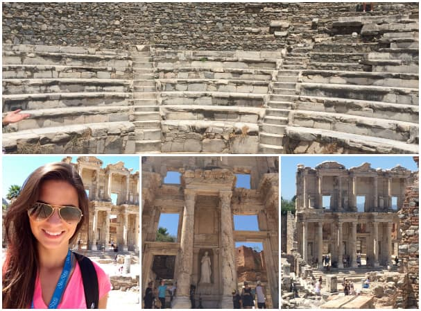 The Odeon Concert Hall and Celsus Library are two of the most popular sights at Ephesus.