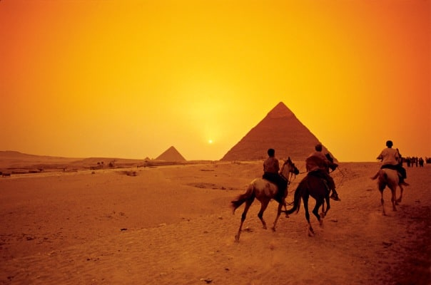 Let your imagination run wild in Egypt.