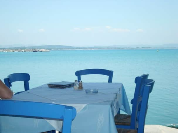 Luh fondly remembers the beach at Corfu and a restaurant on Katakolon.