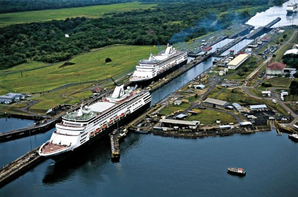 Sail from Atlantic to Pacific (or vice versa) on a repositioning through the Panama Canal.