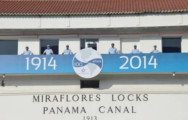 Today the Panama Canal celebrates its 100th Anniversary. Photo courtesy www.100yearspanamacanal.com.