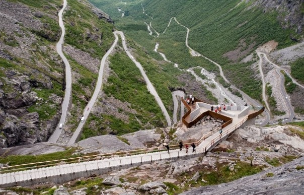 Can you find any trolls at Trollstigen? Photo by Terje Borud, courtesy of Innovasjon Norge.