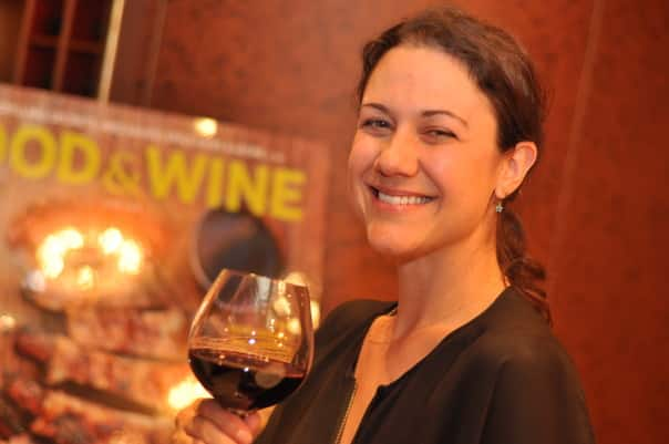 Food & Wine Travel Editor Gina Hamadey hosted wine tastings and talks for guests aboard ms Amsterdam in Alaska in June 2014.