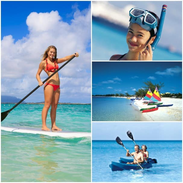 In addition to paddleboards, Half Moon Cay has a variety of rentals available.