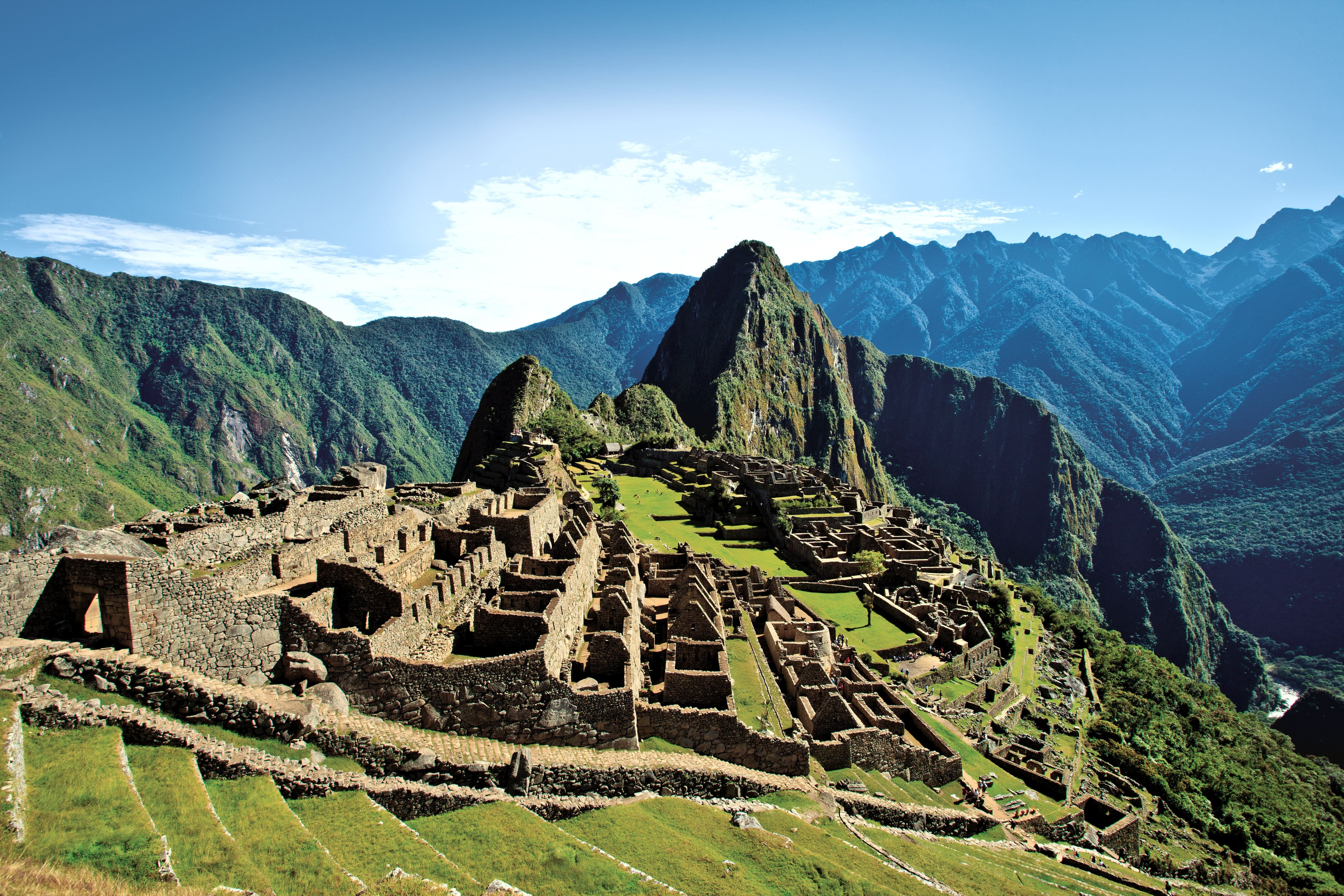 "A visit to Machu Picchu is a ""must-do"" during a visit to South America."