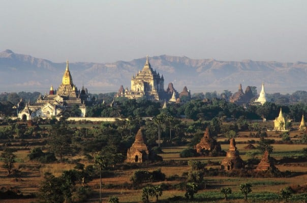 Bagan has more than 2,000 pagodas, temples and monasteries to explore.