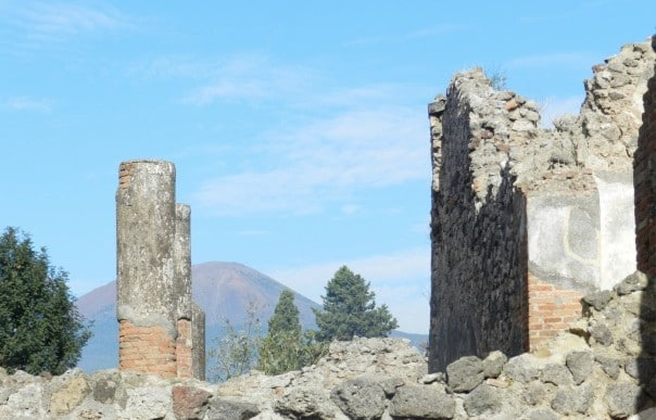 Nancy and Joe Weigand enjoyed the shore excursion that showcased the history of Pompeii and Mt. Vesuvius.