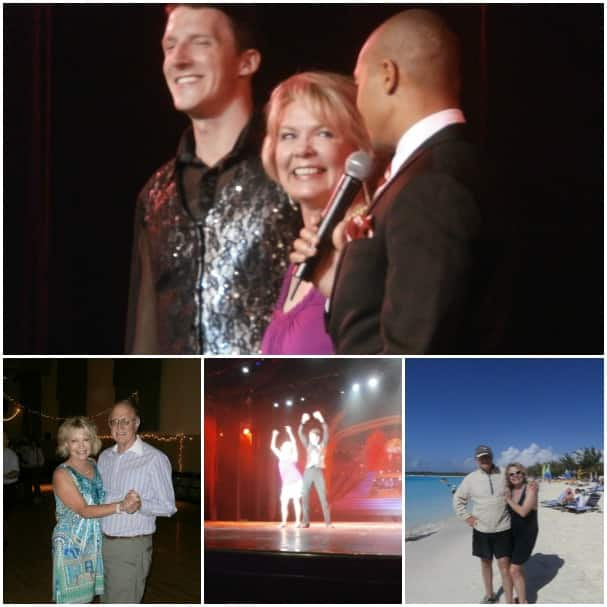 Suzanne Smith was crowned the winner on her cruise, top. Since then, she has started taking dance lessons with her husband.