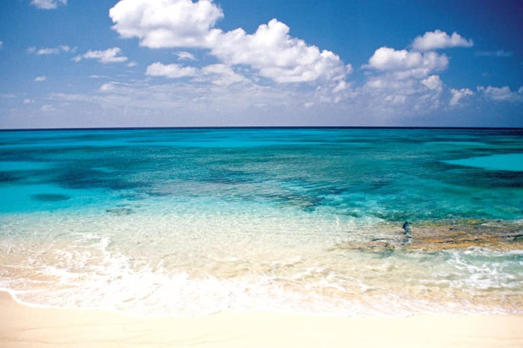 Grand Turk is known to have some of the clearest waters in the world.