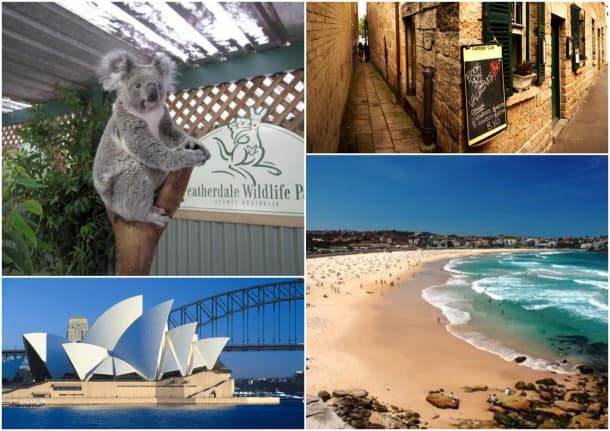 Featherdale Wildlife Park, The Rocks historic district, wold-famous Bondi Beach and The Sydney Opera House are some of the sights you'll see on a pre- or post-cruise package.