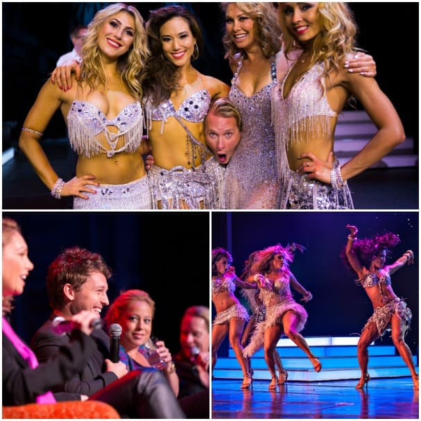 """Dancing with the Stars"" cast members have a great time on every theme cruise. In addition to performing, they also participate in a Q&A."