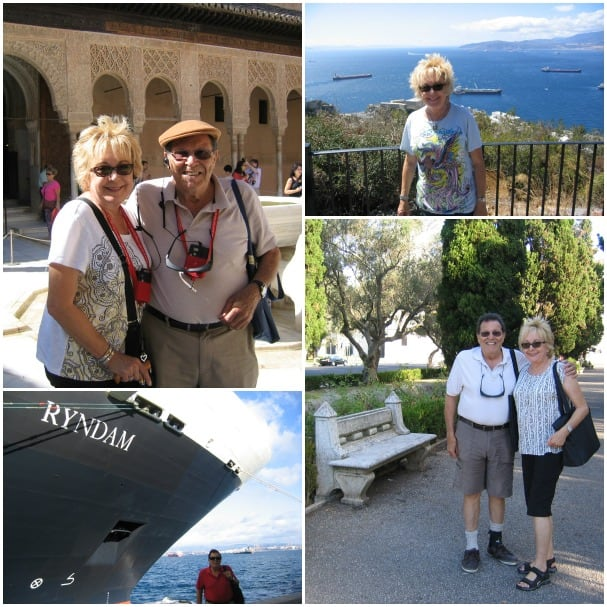 Evelyn and David had a great time on their cruise and enjoyed beautiful weather and scenery.