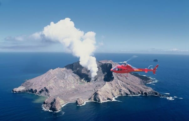 Guests can now enjoy a thrilling flight over White Island's active volcano.