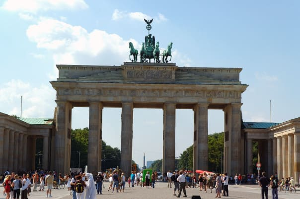 The Brandenburg Gate is considered a symbol of the tumultuous history of Europe and Germany, but also of European unity and peace.
