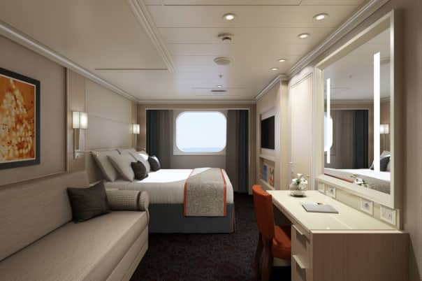 New family staterooms on Koningsdam.