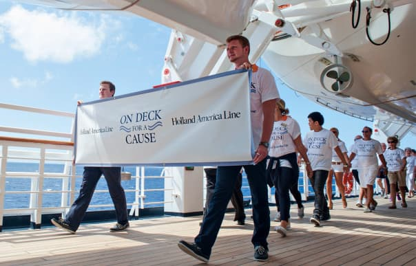 "To-date, the line's ""On Deck"" programs have raised $4 million for cancer support."