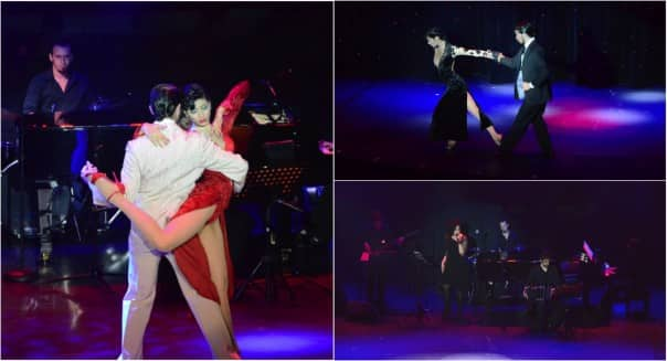 The dancers and musicians showcase their talents at Tango Pasión.
