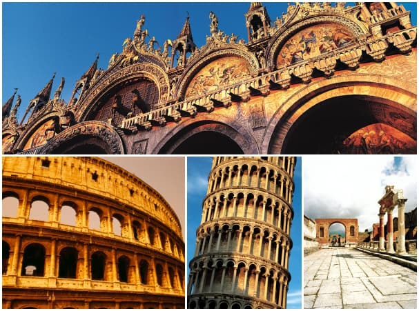The 21-day Mediterranean Adventure let's you get up close with some of the region's most stunning landmarks, including San Marco's Basilica in Venice, the Colosseum in Rome, the Leaning Tower of Pisa from Livorna and Pompeii in Naples.