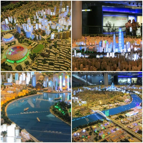 The Shanghai Urban Planning Exhibition.